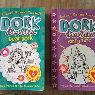 Dork Diaries Books (Dear Dork & Party Time)