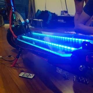 Speedway 4 led acylic