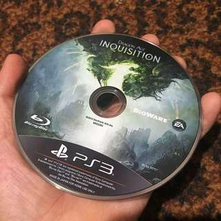 Dragon Age (INQUISITION) PS3 game