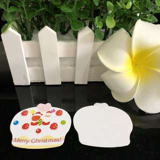 Christmas gift tags - buy 10 free 1