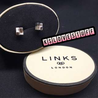 Links of London Cube Earrings