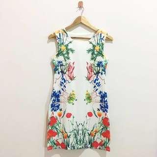 NEW FLOWER MINI DRESS / DRESS PESTA