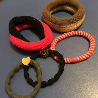 Assorted Hair Bands x 5