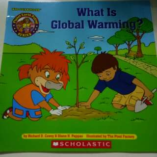 Scholastic What is Global Warming?  Planet Earth Patrol Series