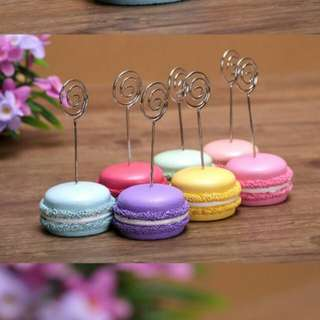 Macaroons Card Holder/ Paper Stand                                                                             [Christmas Day Gift Sale]