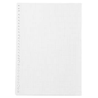 muji loose leaf grid / lined papers
