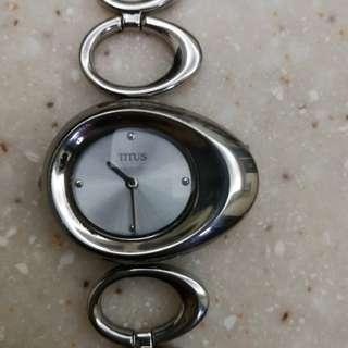 TITUS女裝手錶 帶短 適合小手