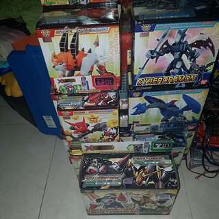 DIGIMON xros wars Transformers toys