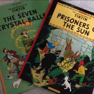 The adventure of TinTin storybook