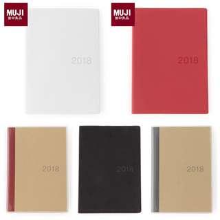 MUJI 2018 Planner