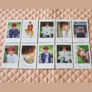 [PO] Jeong Sewoon Ever Official Photocards Full Set