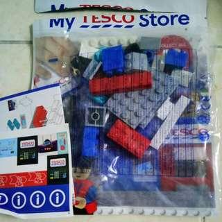 Tesco Lego miniset Cashier Sophia