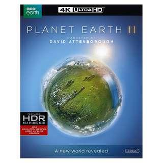 🌲Christmas Sales 20 ❄: 🆕 Planet Earth II 4K UHD Blu Ray