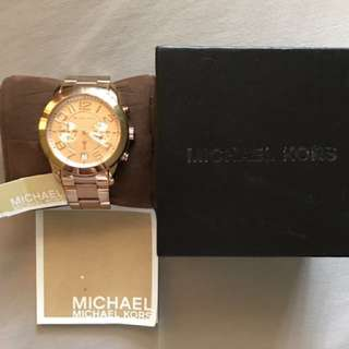 Authentic Rose gold Michael Kors Watch