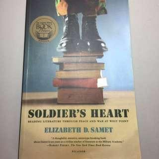 [聊聊免運]原文書-soldier's heart