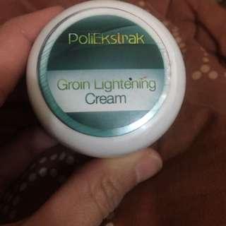 Cream untuk selangkangan hitam