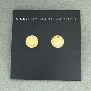 Marc Jacobs Sample Earrings 金色圓形耳環