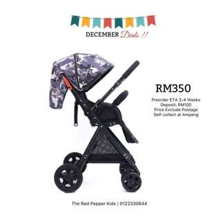 High Landscape Two Way Baby Stroller