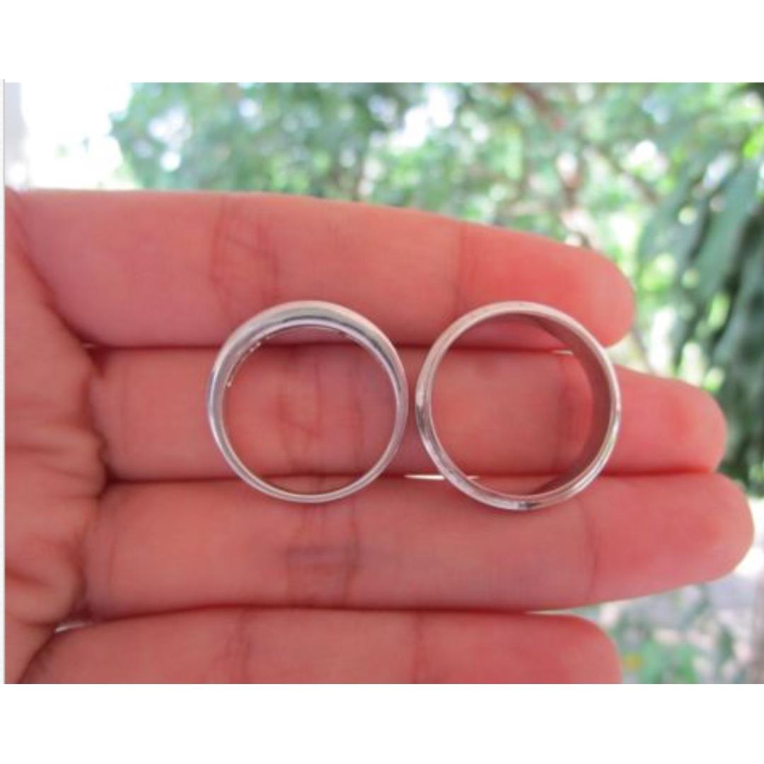 72 Carat Diamond White Gold Wedding Ring Code WD039 18K, Preloved ...