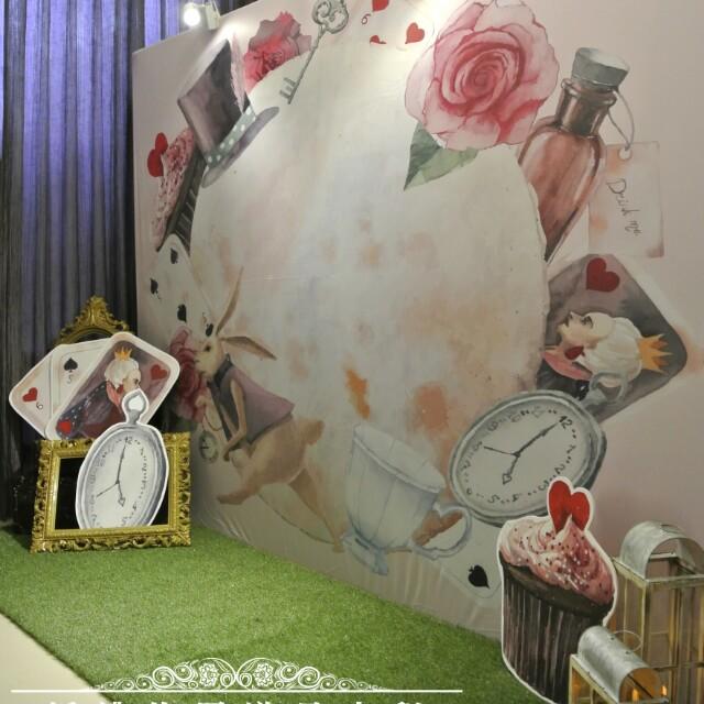 奇幻愛麗絲套組~婚禮佈置道具出租