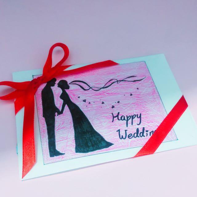 氣球卡片(結婚主題)