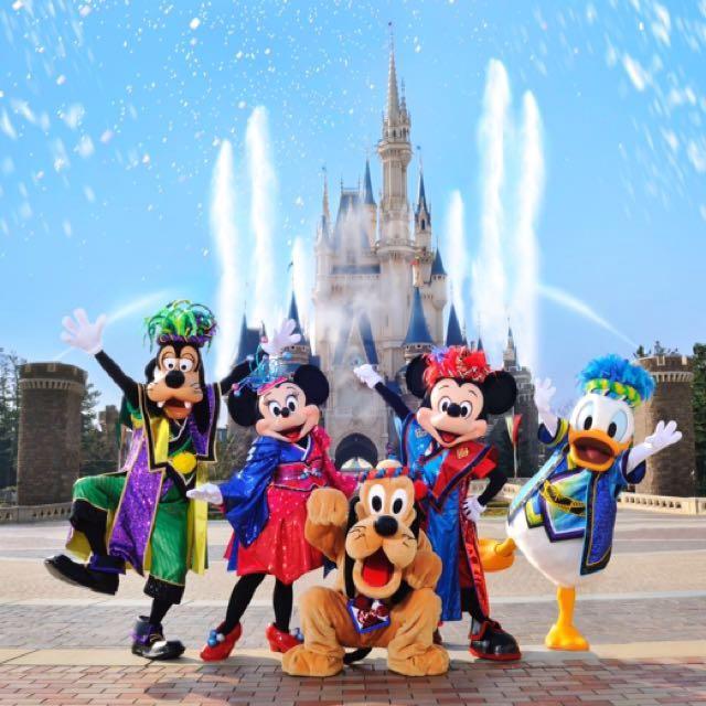 日本海洋迪士尼門票