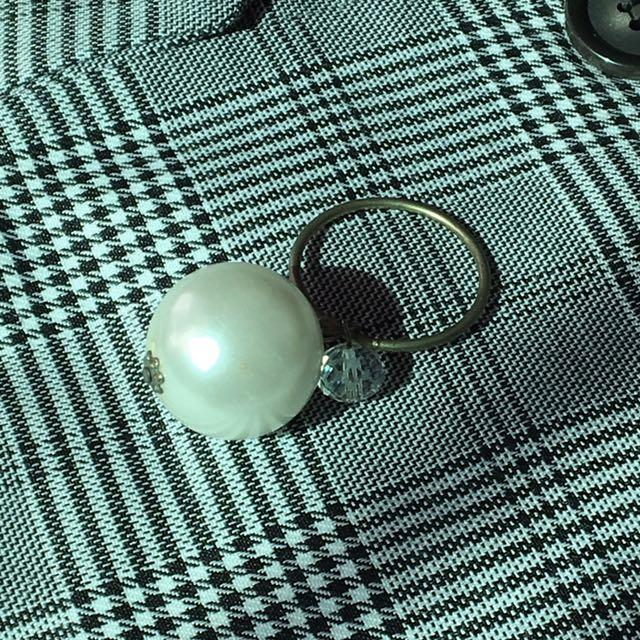 大珍珠鑰匙圈 珍藏小物🌹