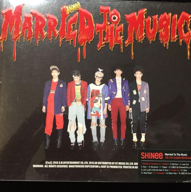 !! BRAND NEW SHINEE MARRIED TO THE MUSIC REPACKED ALBUM !!