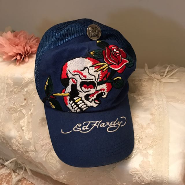 正品 Edhardy  unisex帽