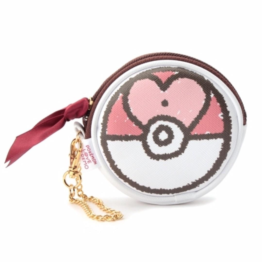 [日本限定聖誕新品]  Pokemon 零錢包 (愛心款)
