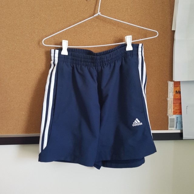 Adidas Navy Shorts Size Small