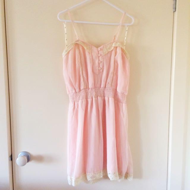Ally Pink Dress