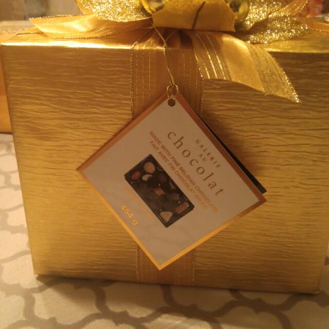 Amazing chocolates beautifully gift wraped
