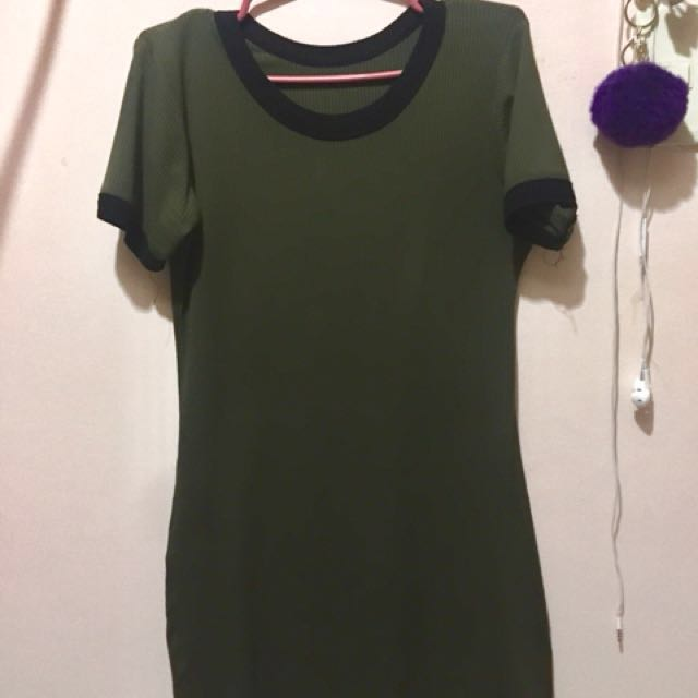 Army Green Dress