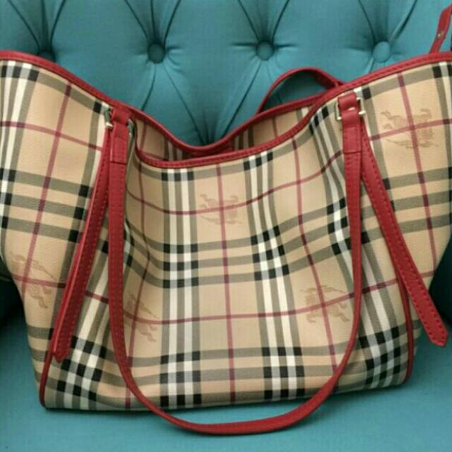 Authentic Burberry Shopper Bag