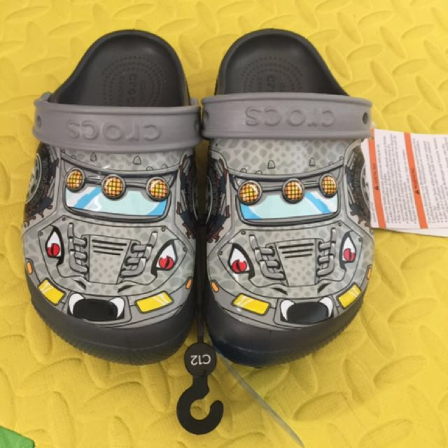 authentic crocs funlab lights monster truck