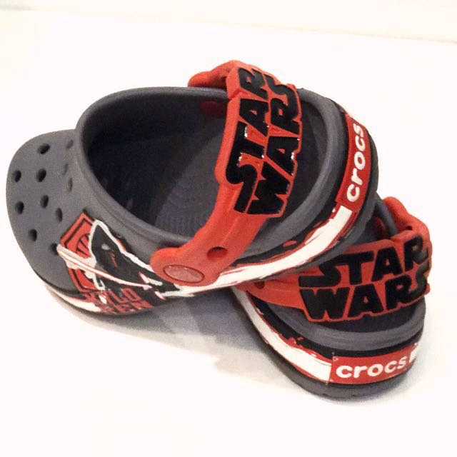 9551c4ad75 Authentic Crocs Star Wars Limited Edition for boys