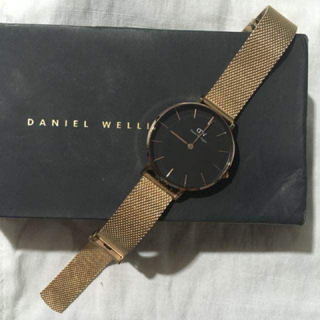 Authentic Daniel wellington