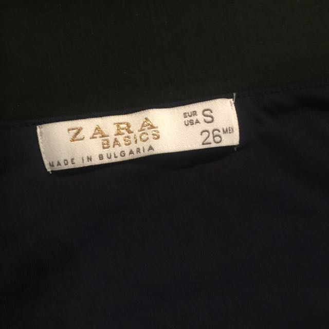 Authentic Navy Blue Zara tank top