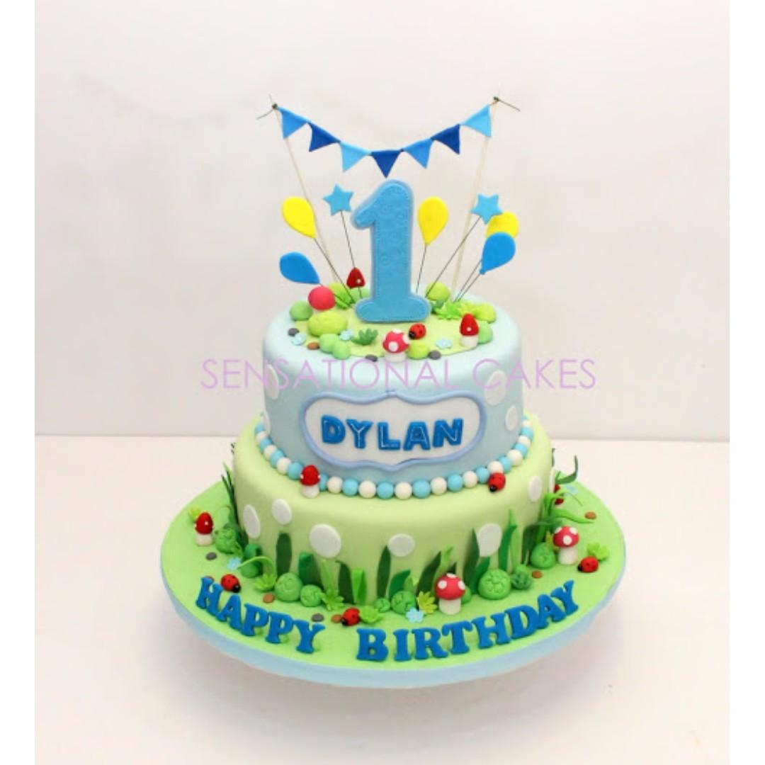 Baby 1st Year Birthday Cake For Boy 3d Cake Singapore Best