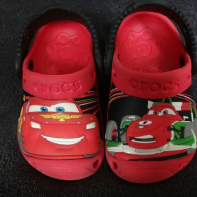 Baby Toddler Crocs Clogs Shoes Authentic Disney Cars