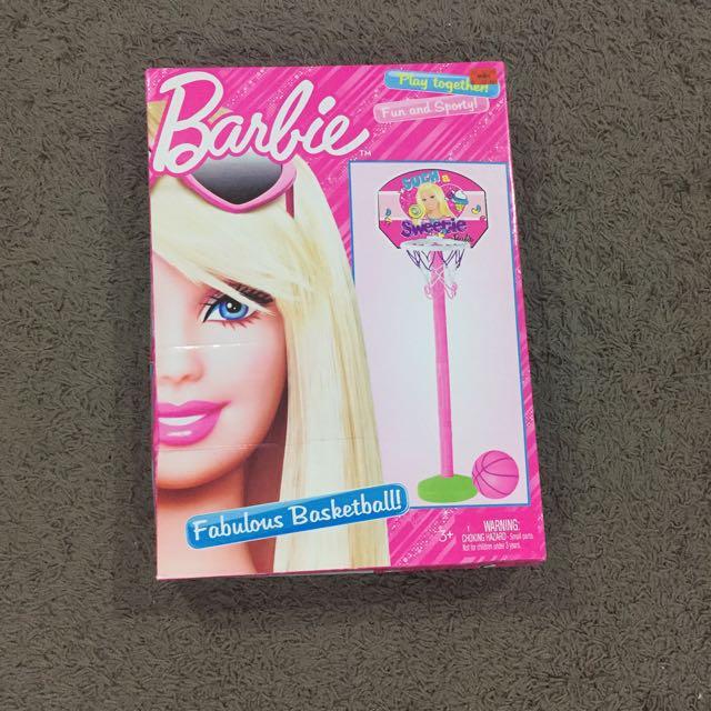 Barbie Basketball hoop