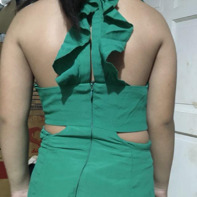 Bershka emerald