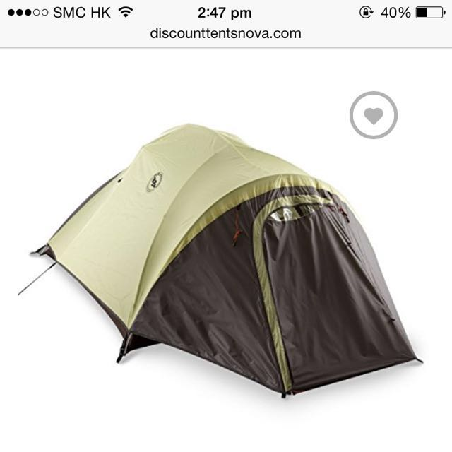 photo photo ...  sc 1 st  Carousell & Big Agnes Seedhouse 3 Person Tent w/ Cross-Over Pole u0026 Footprint ...
