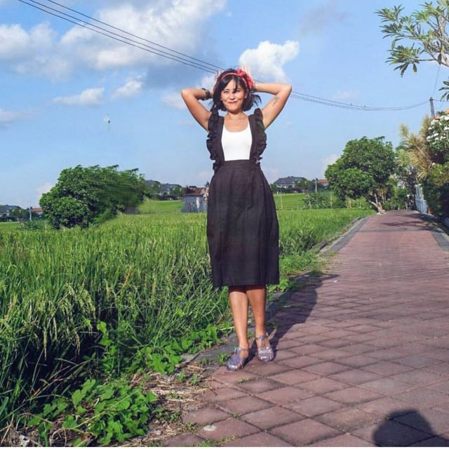 Black Overall size S