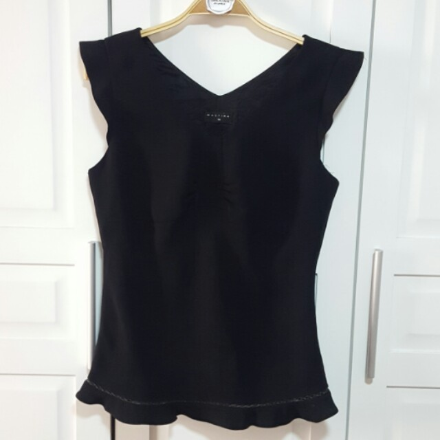 Black Semi Formal / Casual Blouse