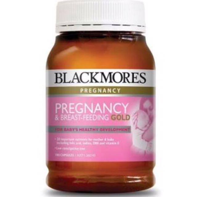 Blackmores Pregnancy and Breastfeeding - GOLD