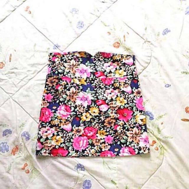 [BN] Floral Skirt