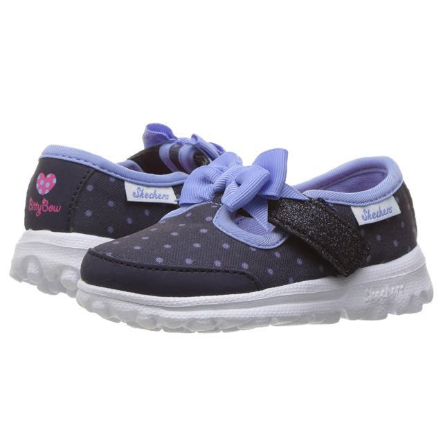 882563326a335 BNIB Sketchers Girl Mary Jane Shoes Go Walk Bitty Bow Sneaker 11 on ...