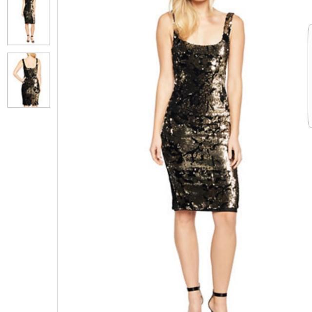 💓BNWT Home>BARDOT>Sequined Sleeveless Dress  BARDOTSequined Sleeveless Dress